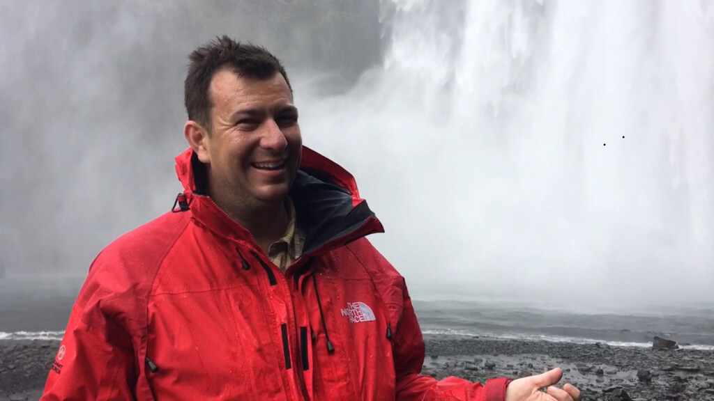 Tim Farrell in Iceland